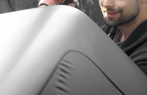 Hardtop Toyota Hilux – oklejanie carbon 4D