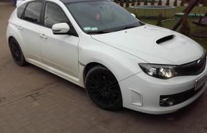 Subaru – oklejenie dachu